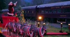 Santa polar express